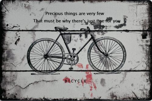 Retro metalen bord limited edition - Bicycle